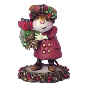 M326 Mary's Christmas burgandy
