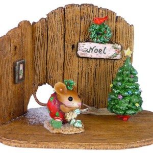 NM4A Nibbles Christmas Backdrop (does not include mouse)