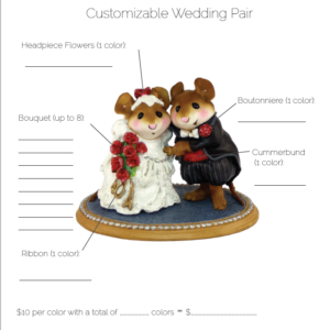 Wedding pair custom form