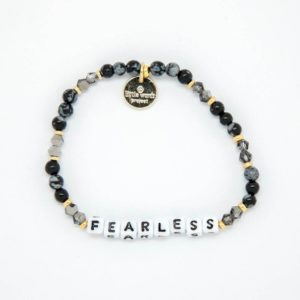 Fearless black grey Little Words Project