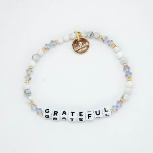 Grateful cream grey Little Words Project