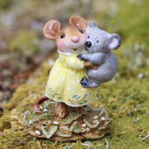 M688 Cuddly Koala yellow_Wee Forest Folk