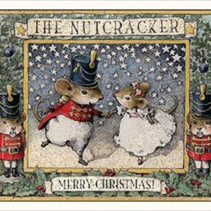 Nutcracker note card