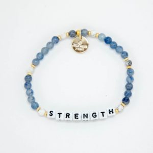 Strength blue Little Words Project