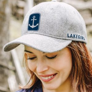 Lakegirl Wool Anchor Cap