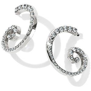 Sea of Love Crystal Hoop Earrings