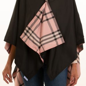 Rainrap black and pink plaid