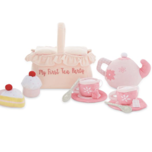 My First Tea Party Plush Set