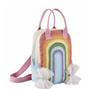 girls rainbow backpack