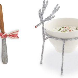 reindeer dip bowl