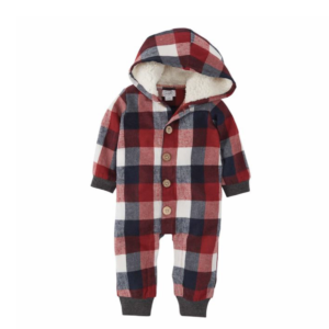 Buffalo Check Hooded Onsie