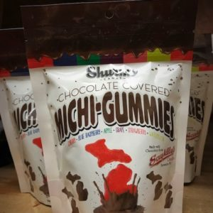 michi gummies chocolate