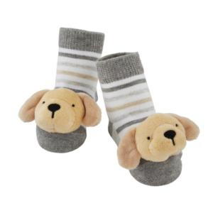 yellow lab rattle toe socks