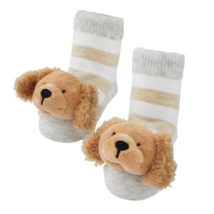 golden rattle toe socks