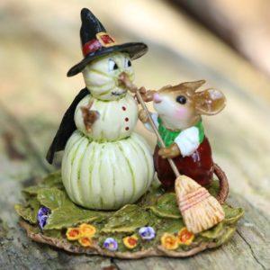 LTDM711 Pumpkin Snowman-green_